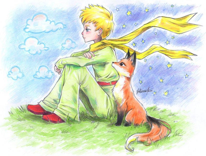 маленький принц рисунки карандашом легкие и красивые проходит медленную