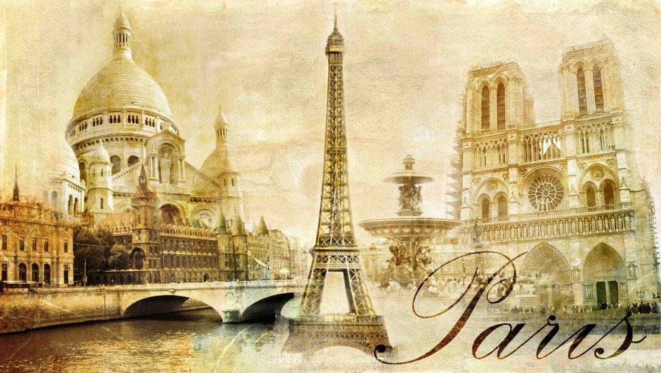обоев франция париж открытки то