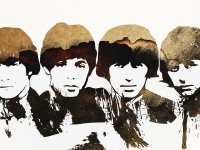 71 фотообои граффити The Beatles